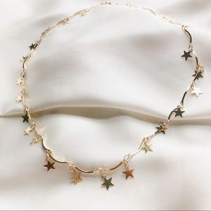 Star Charm Dainty Choker Necklace